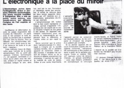 article ouest france 1993