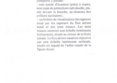 Le quotidien du congrès O.R.L. 1992 Aérophonoscope de Jacques Chereau et du professeur Delaire